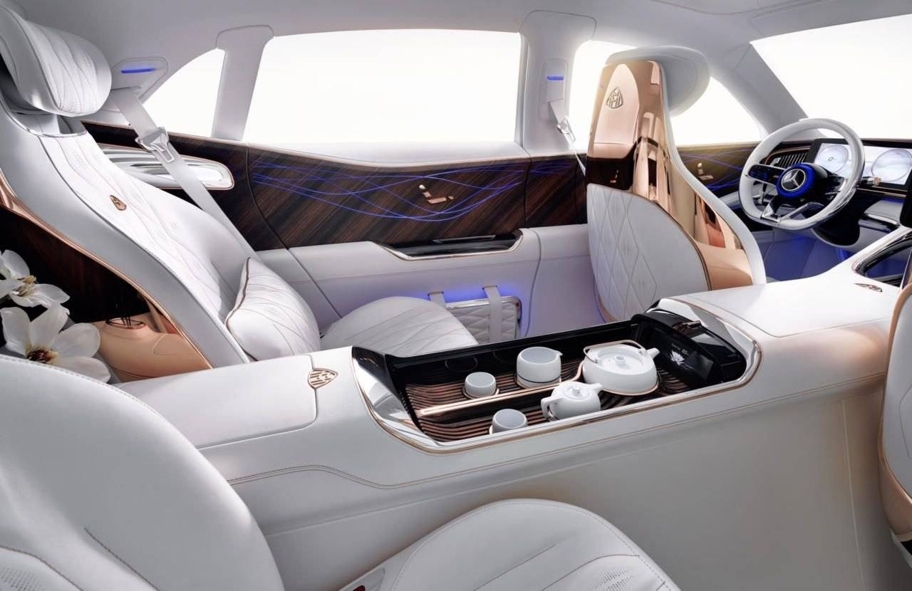 Mercedes-Maybach Ultimate Luxury Concept lekt uit ...