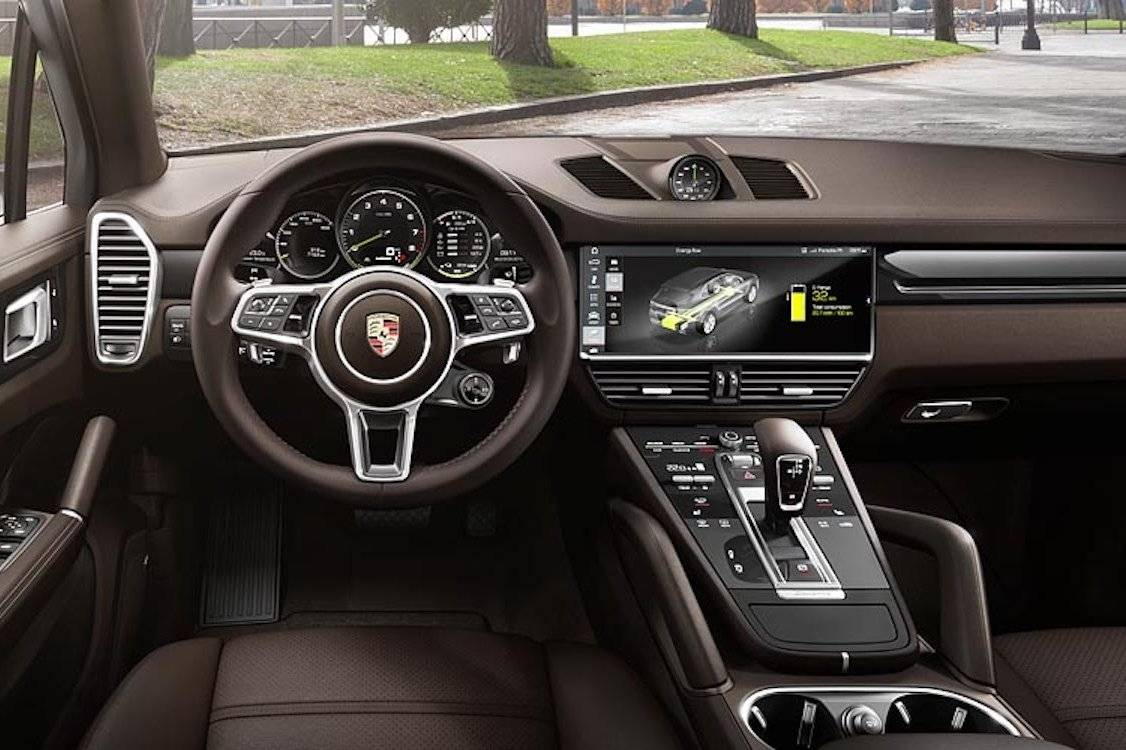 porsche cayenne per direct bestelbaar als e hybrid autonieuws. Black Bedroom Furniture Sets. Home Design Ideas