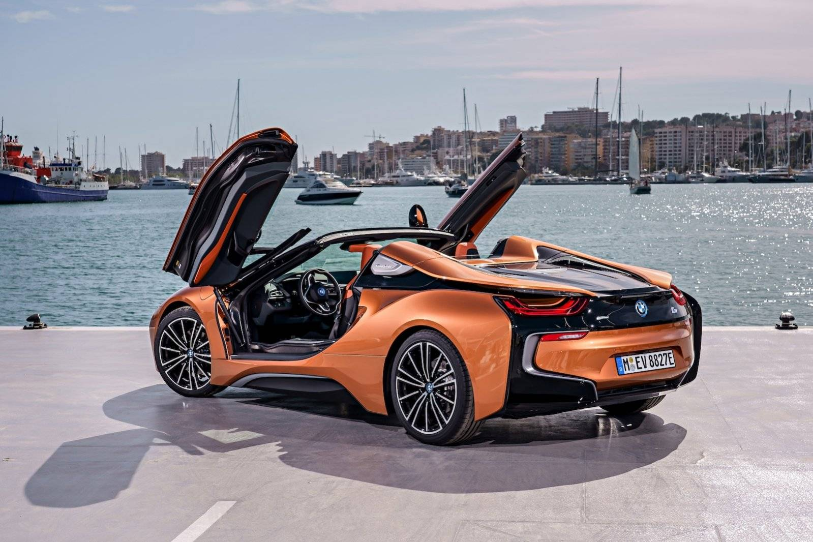 een zomers weekend in met de bmw i8 roadster. Black Bedroom Furniture Sets. Home Design Ideas