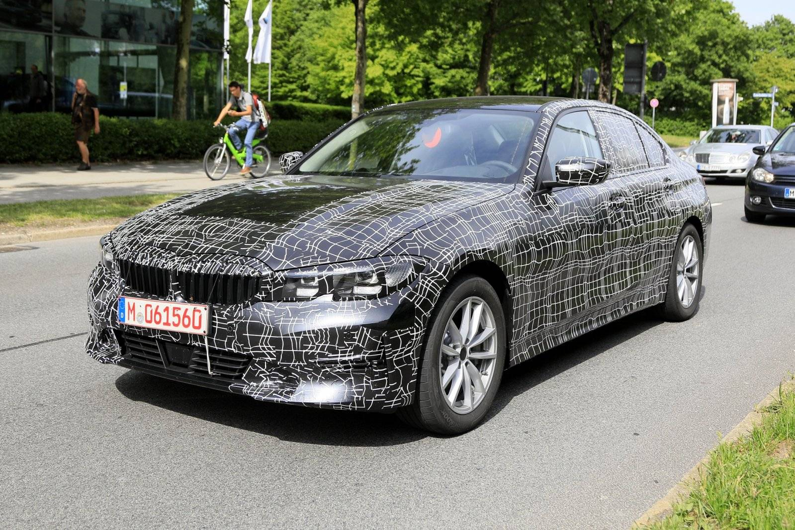 nieuwe bmw 3 serie verliest camouflage spyshots. Black Bedroom Furniture Sets. Home Design Ideas