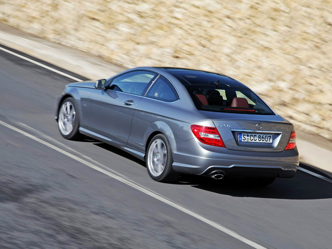 Test Mercedes C Klasse Coup 233 Amg Autotests