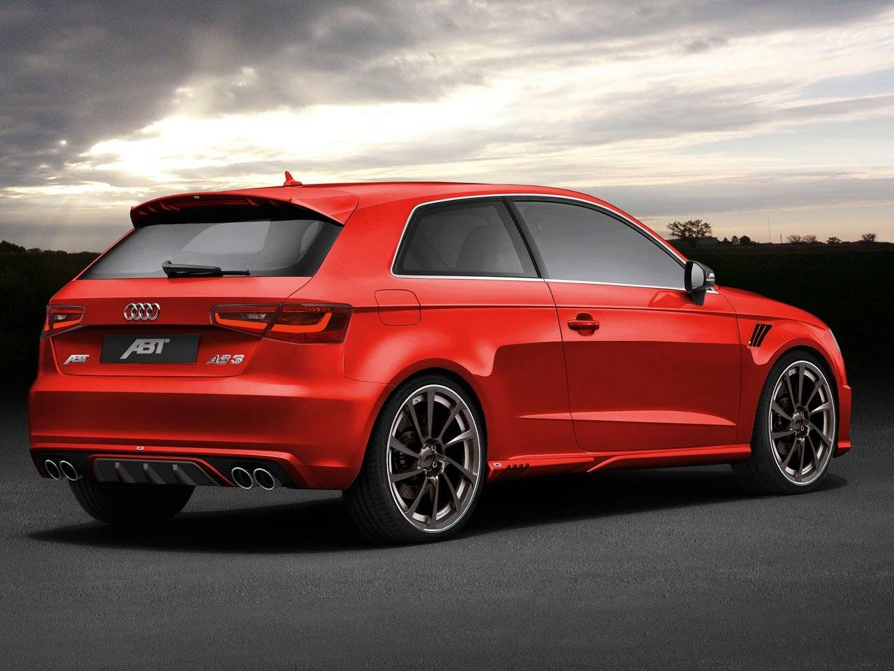 Abt Getunede Audi A3 Valt S3 Aan Tuning Amp Styling