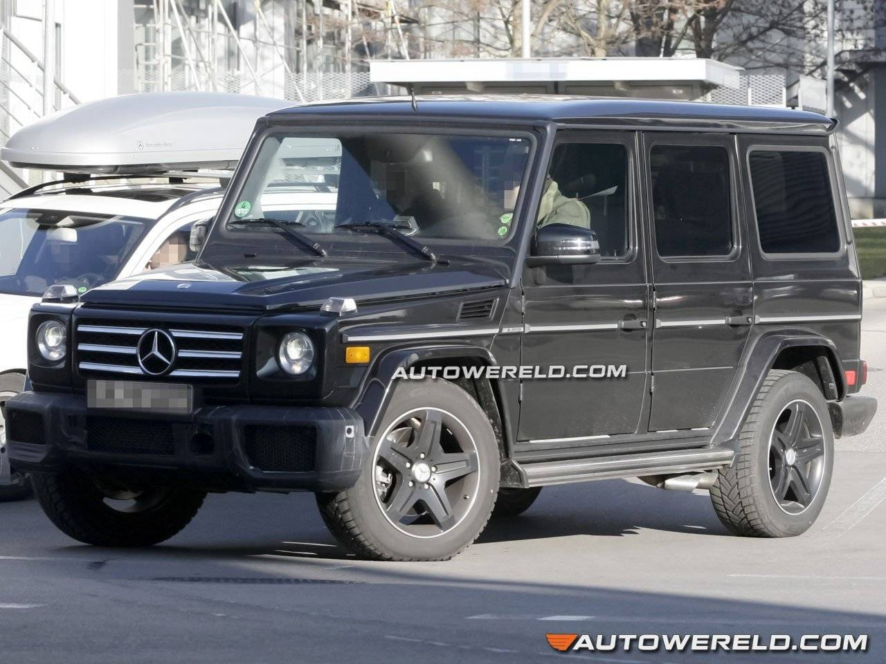 amg v12 voor mercedes g klasse g 65 amg spyshots. Black Bedroom Furniture Sets. Home Design Ideas