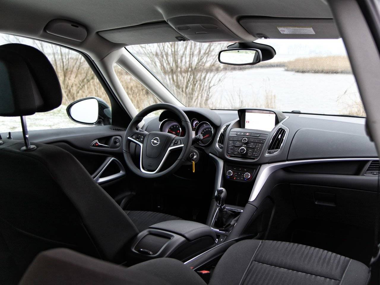 photo opel zafira tourer concept interieur of interieur