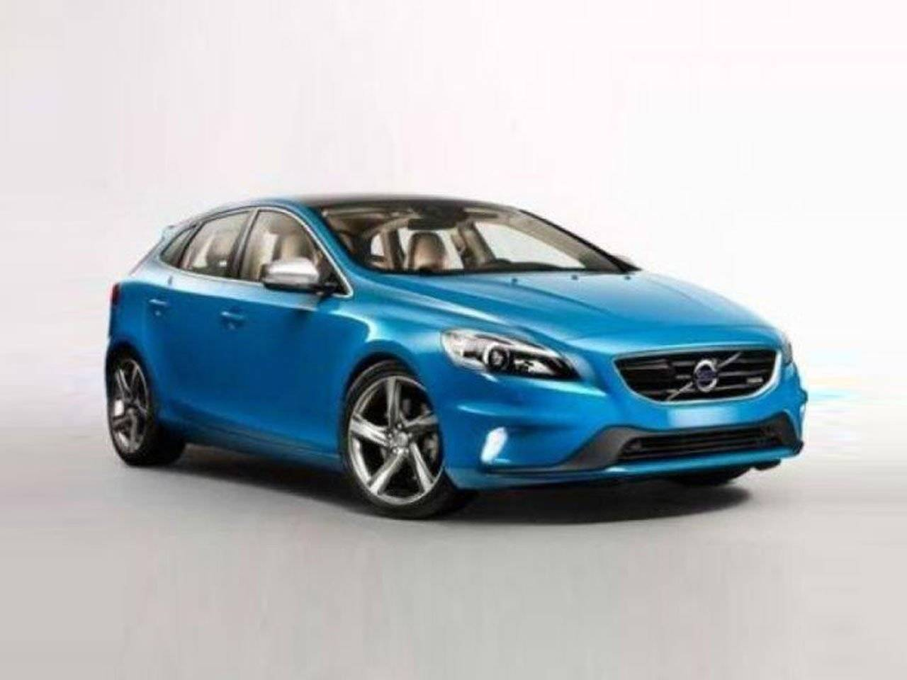 volvo v40 r design duikt te vroeg op autonieuws. Black Bedroom Furniture Sets. Home Design Ideas