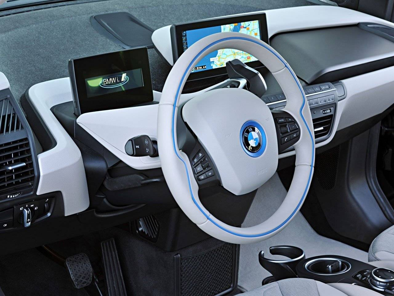 Test bmw i3 autotests for Interieur i3