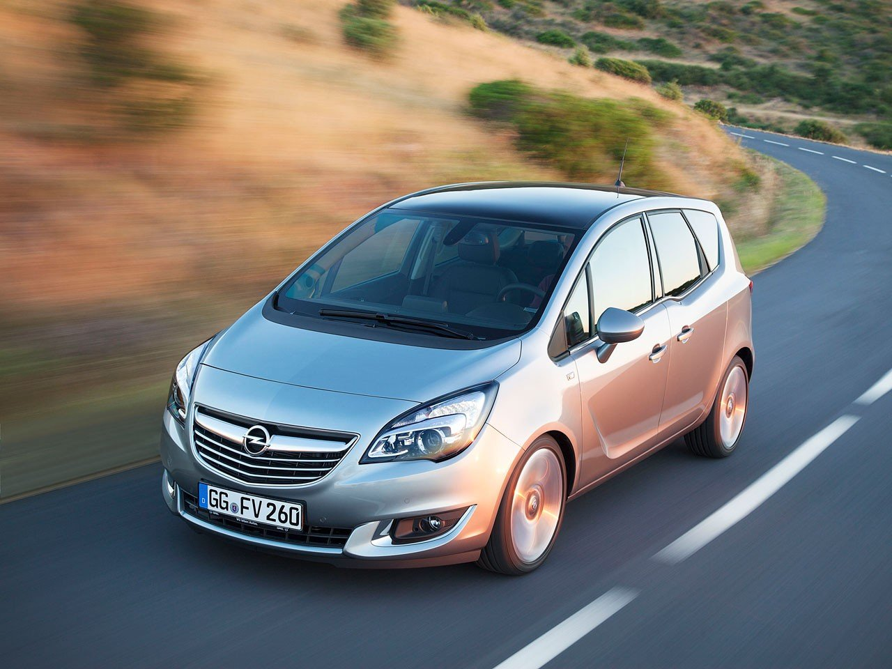 opel meriva ontvangt facelift autonieuws. Black Bedroom Furniture Sets. Home Design Ideas