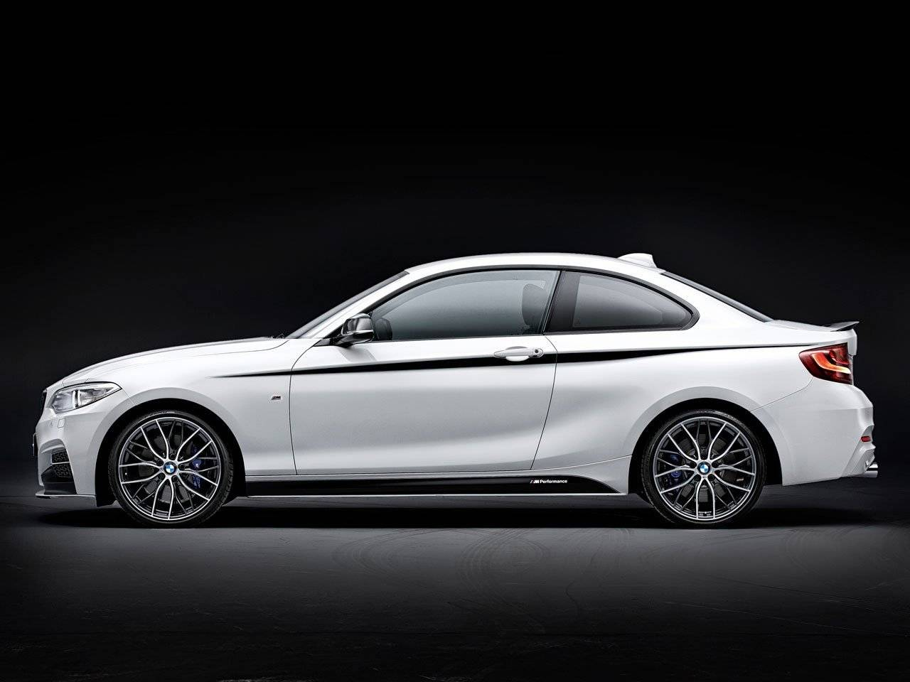 bmw 2 serie coup met m performance opsmuk tuning. Black Bedroom Furniture Sets. Home Design Ideas