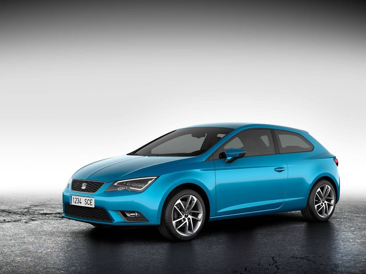 de 3 deurs seat leon sc is officieel autonieuws. Black Bedroom Furniture Sets. Home Design Ideas