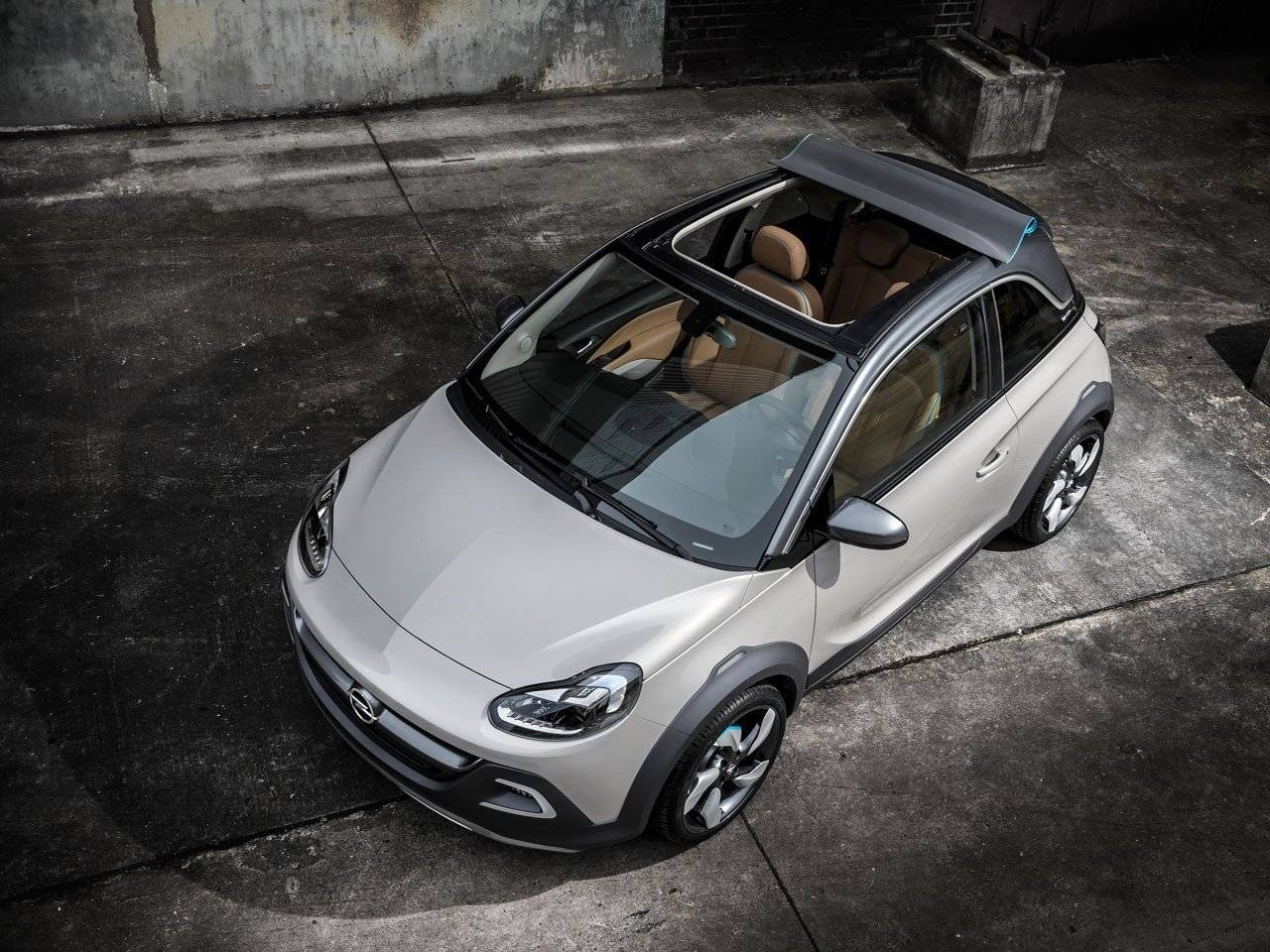 opel adam rocks cabrio en crossover in n autonieuws. Black Bedroom Furniture Sets. Home Design Ideas