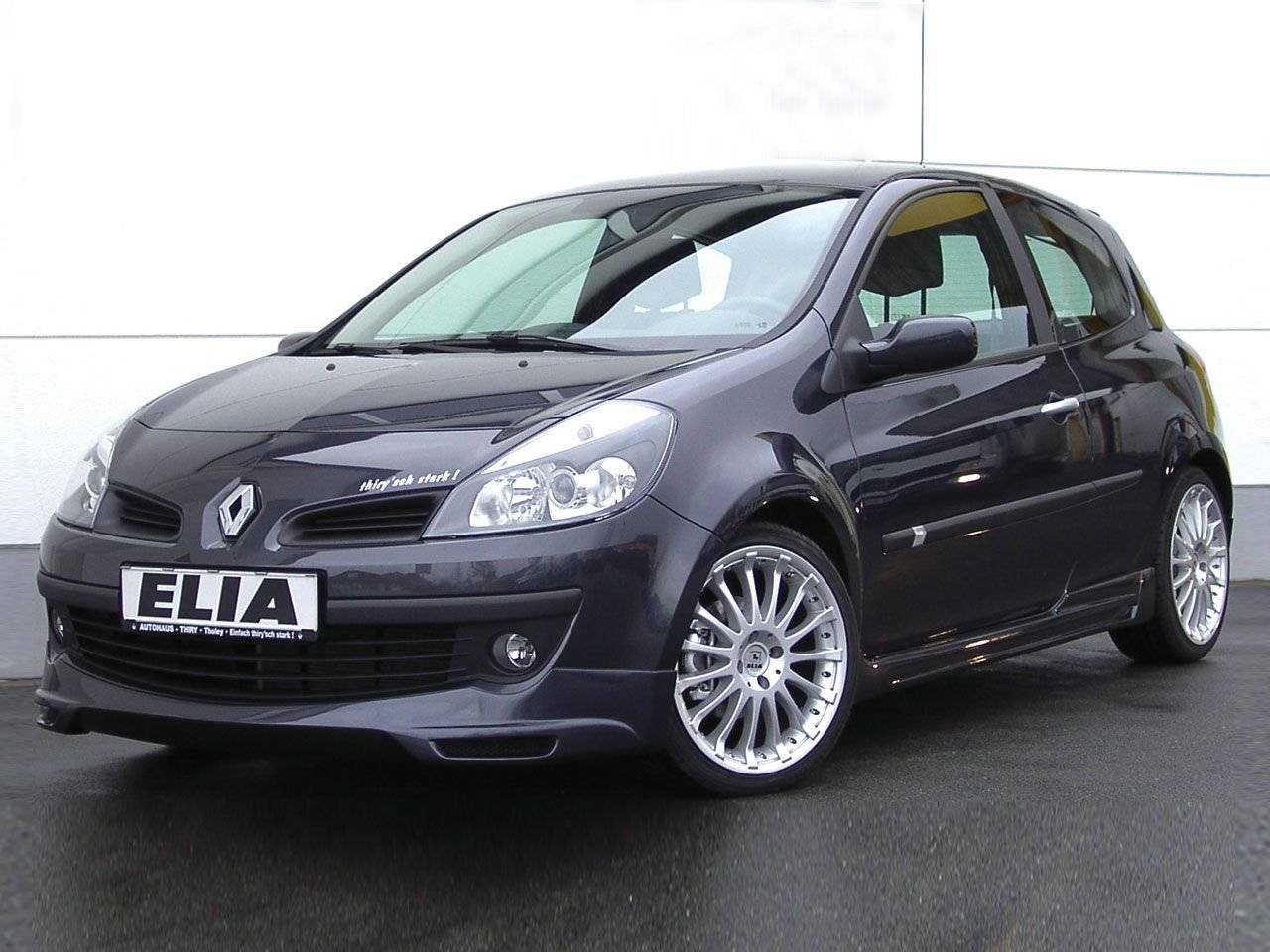 elia bodykit voor de renault clio iii tuning styling. Black Bedroom Furniture Sets. Home Design Ideas