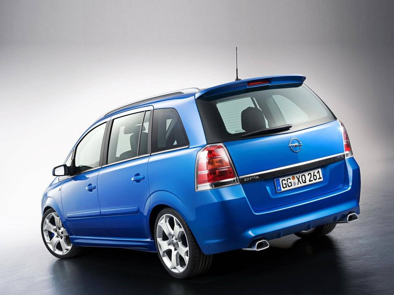 opel zafira opc met 240 pk autonieuws. Black Bedroom Furniture Sets. Home Design Ideas