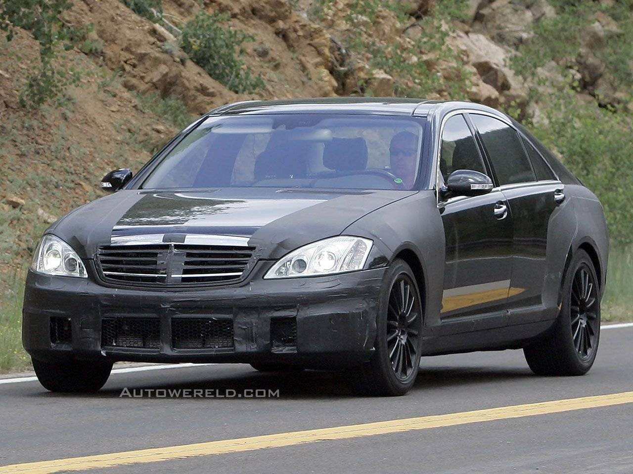 mercedes s klasse amg gespot spyshots. Black Bedroom Furniture Sets. Home Design Ideas