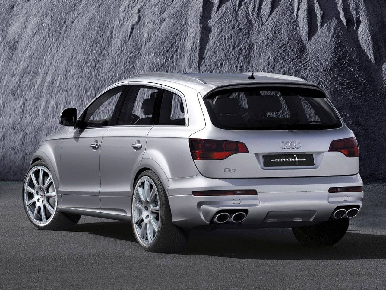 subtiel sportief nothelle audi q7 tuning styling. Black Bedroom Furniture Sets. Home Design Ideas