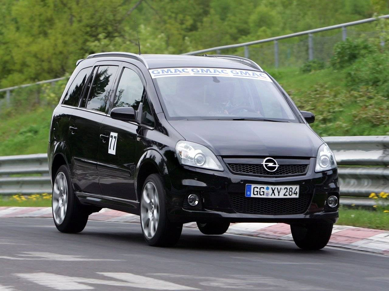 de snelste midi mpv opel zafira opc autonieuws. Black Bedroom Furniture Sets. Home Design Ideas