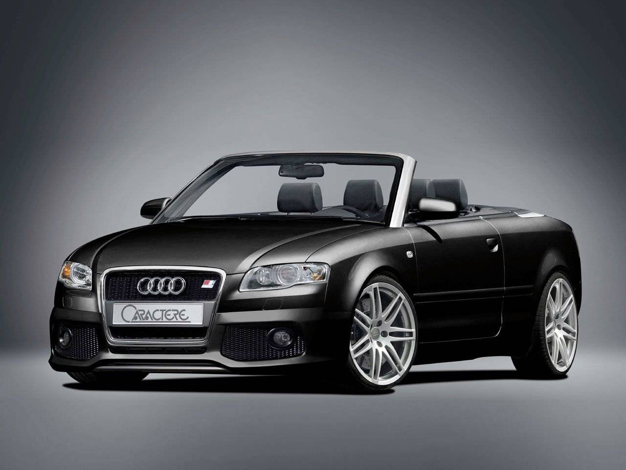 rs4 look voor audi a4 cabriolet tuning styling. Black Bedroom Furniture Sets. Home Design Ideas
