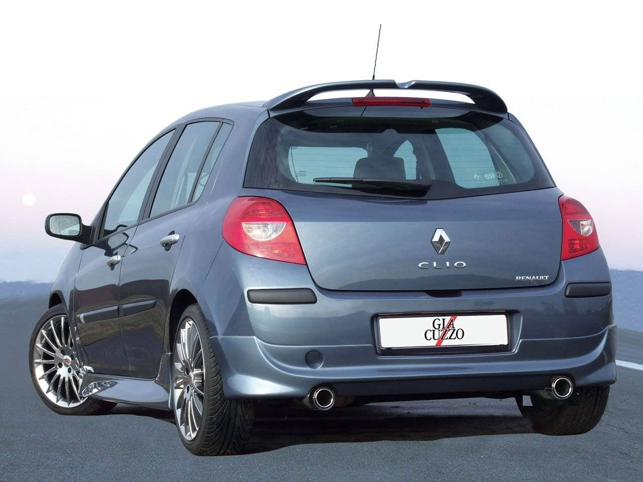 giacuzzo komt met bodykit renault clio tuning styling. Black Bedroom Furniture Sets. Home Design Ideas