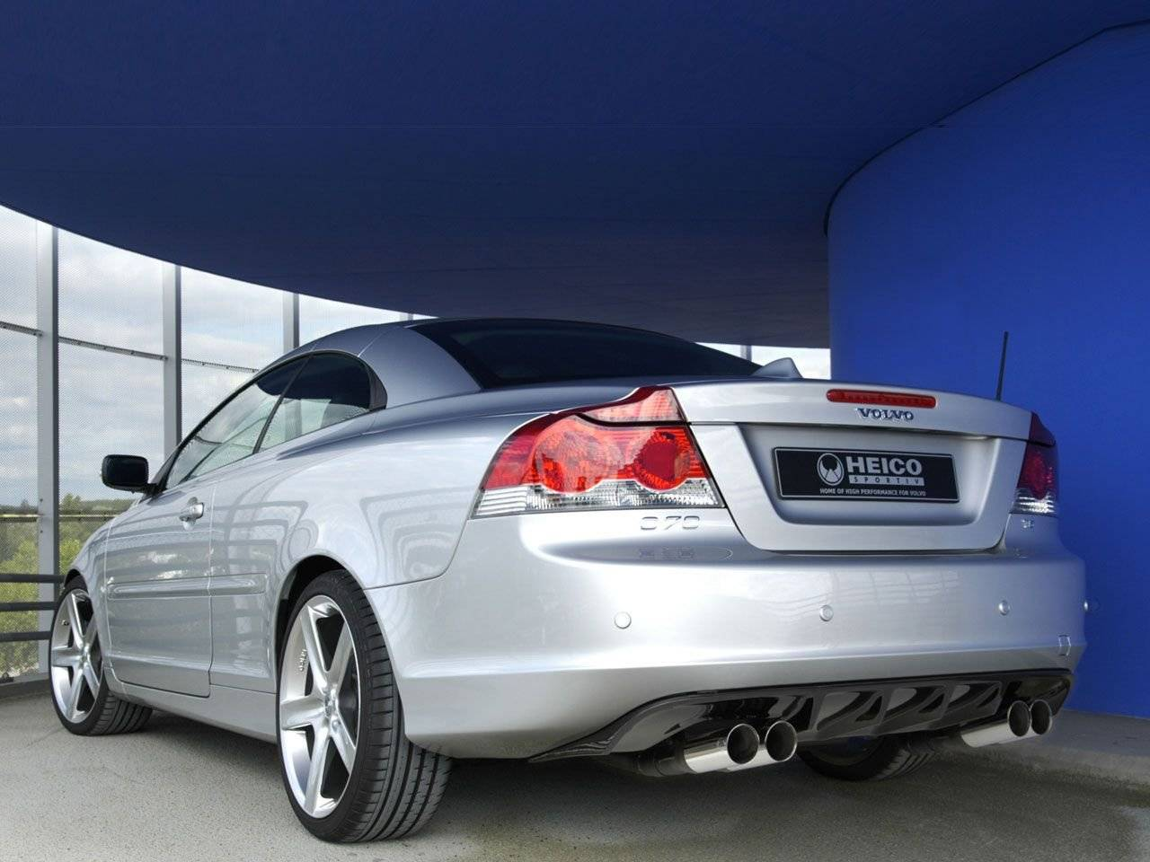 volvo c70 in heico sportiv look tuning styling. Black Bedroom Furniture Sets. Home Design Ideas