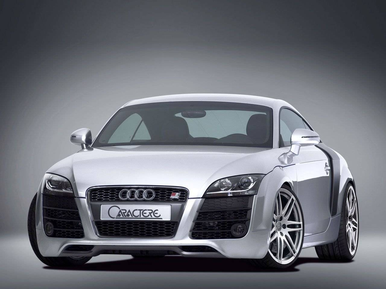audi tt met r8 look van caractere tuning styling. Black Bedroom Furniture Sets. Home Design Ideas