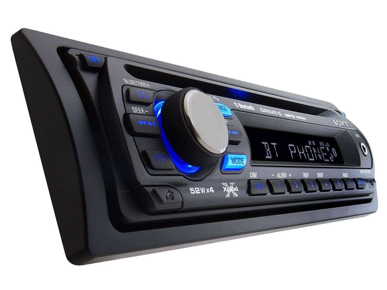 bluetooth autoradio sony mex bt 2500 automultimedia. Black Bedroom Furniture Sets. Home Design Ideas