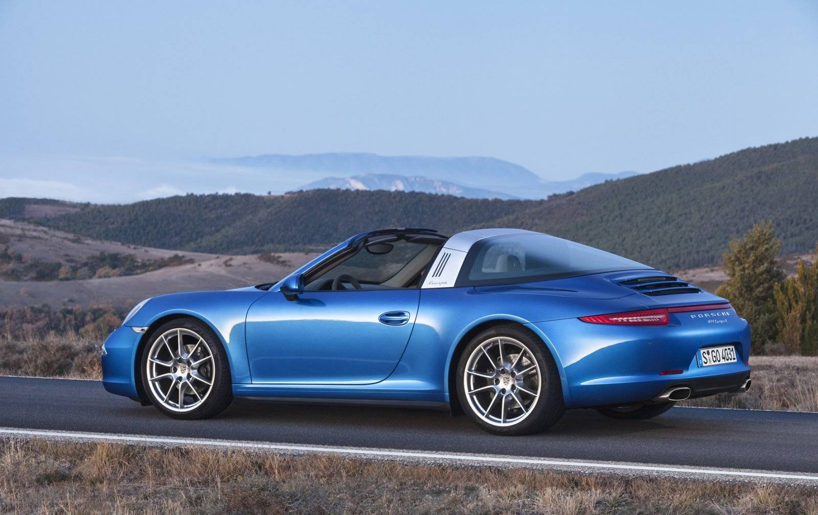 de porsche 911 targa is terug autonieuws. Black Bedroom Furniture Sets. Home Design Ideas