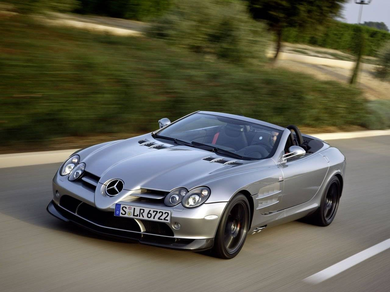 voor mercedes mclaren slr roadster 722 s. Black Bedroom Furniture Sets. Home Design Ideas