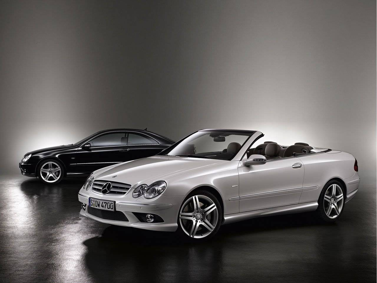 mercedes benz clk grand edition amg look a like autonieuws. Black Bedroom Furniture Sets. Home Design Ideas