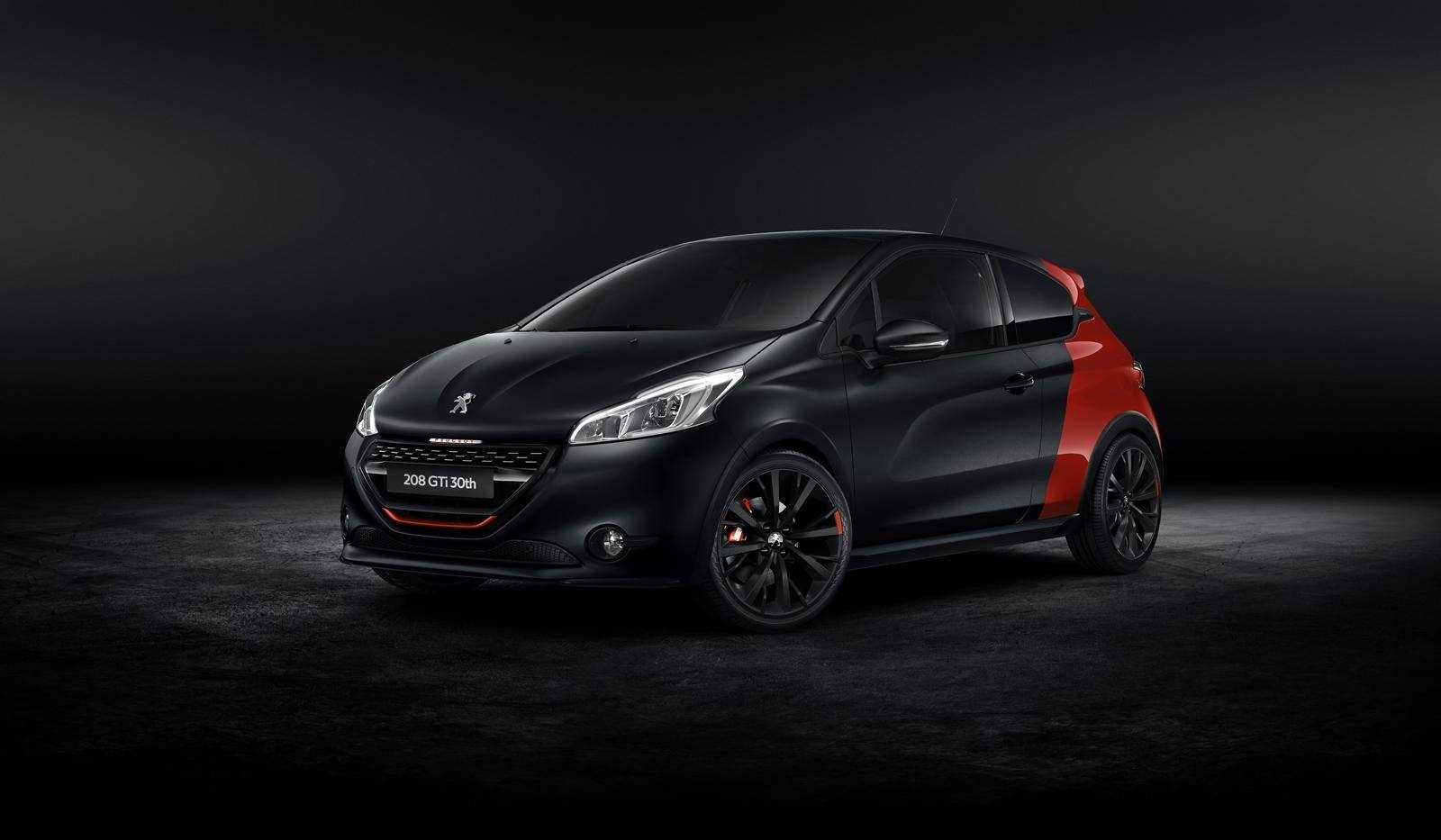 peugeot 208 gti 30th edition kost ruim 30 mille autonieuws. Black Bedroom Furniture Sets. Home Design Ideas