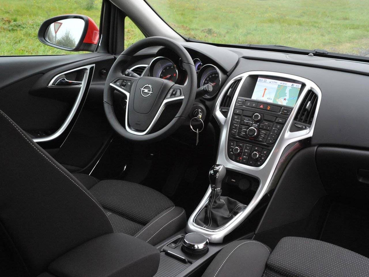 Test opel astra autotests for Interieur id