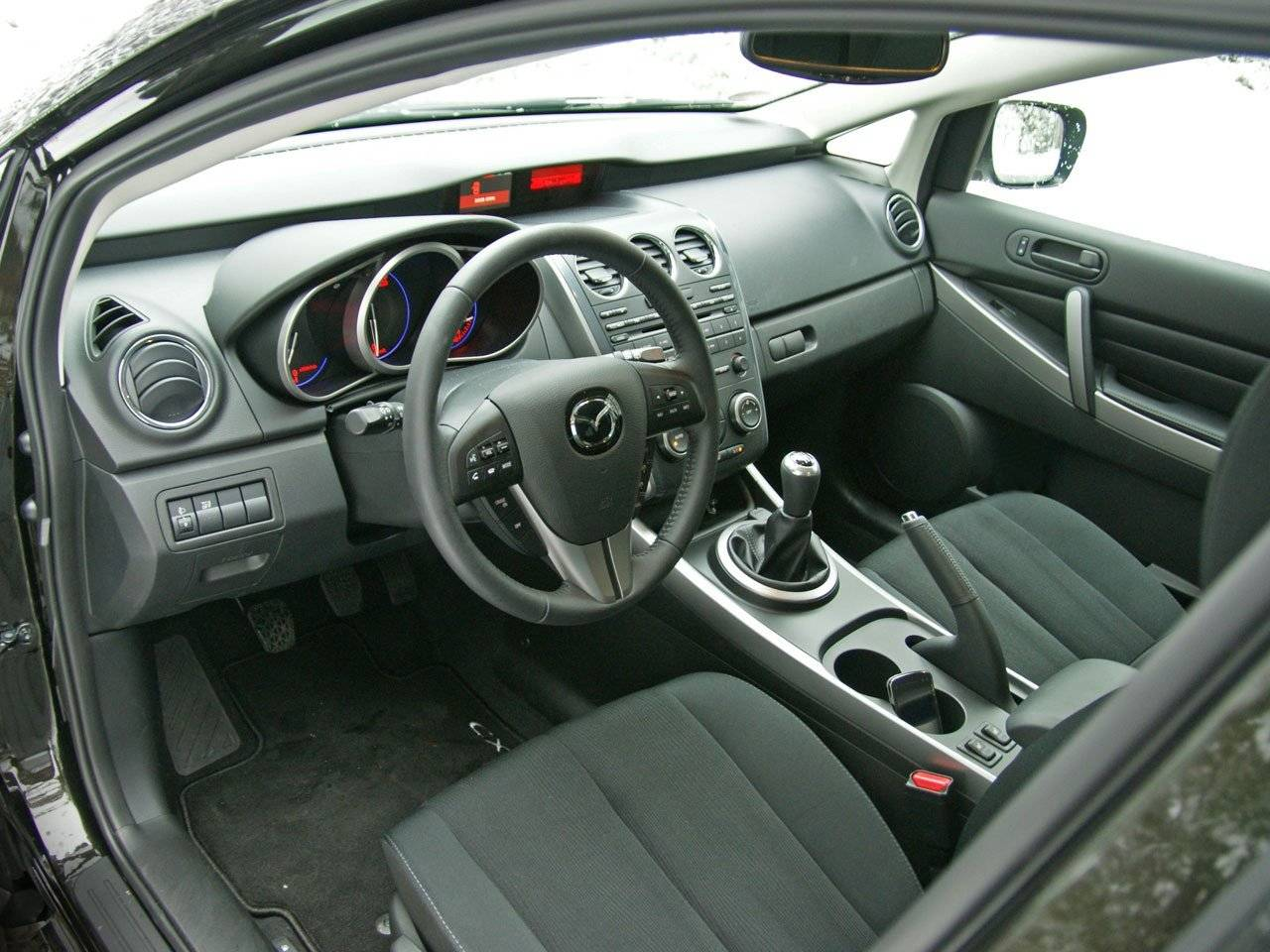 test mazda cx 7 2 2 citd autotests. Black Bedroom Furniture Sets. Home Design Ideas