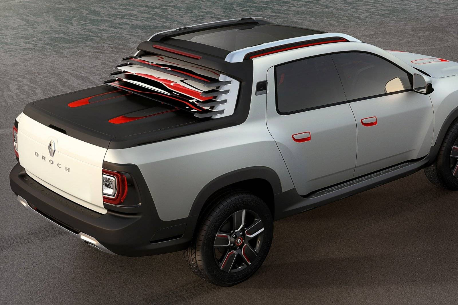 bouwen en verschepen graag renault duster oroch pick up autonieuws. Black Bedroom Furniture Sets. Home Design Ideas