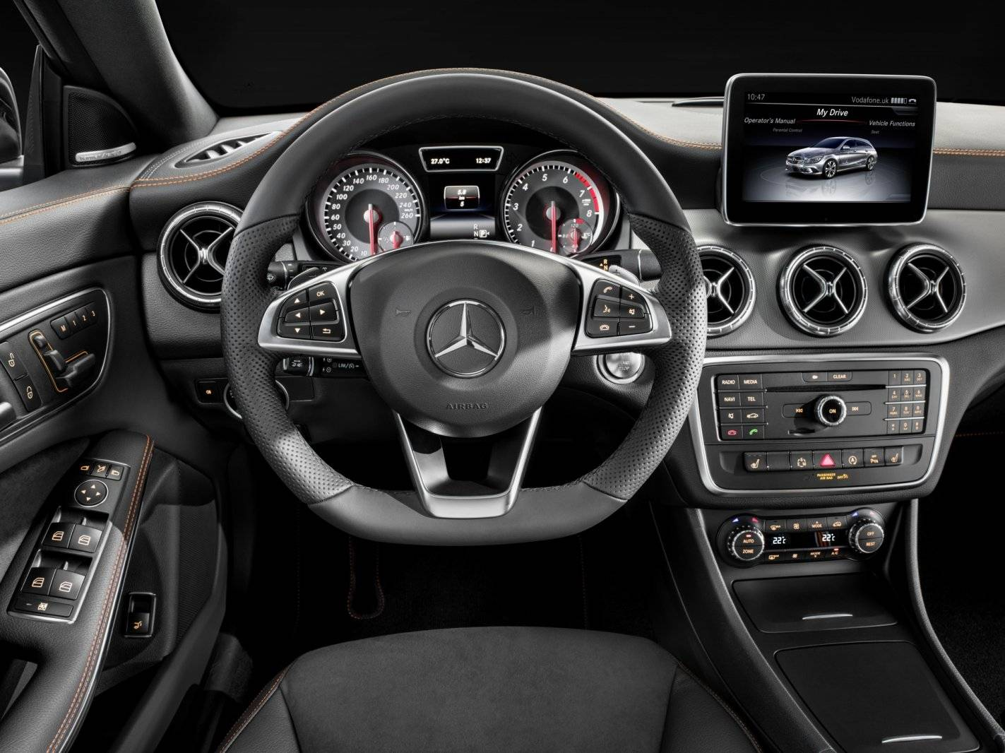 mercedes benz verrijkt zich met cla shooting brake autonieuws. Black Bedroom Furniture Sets. Home Design Ideas
