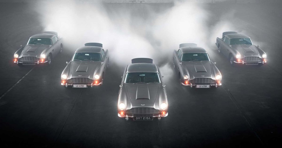 Are These New Aston Martin Db5 Goldfinger Recreations Already Broken Netherlands News Live